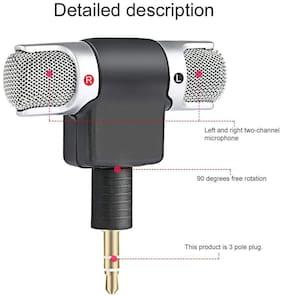 Crystal Digital Digital Stereo Microphone Mic 3.5mm Mini Jack PC Laptop Notebook