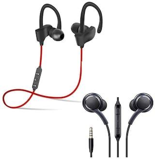CHG  M3 Smart Band Fitness Tracker Watch Heart Rate Activity Tracker with Kaju Bluetooth earpiece,Mini S530 Hands-Free Bluetooth Earbuds Headset