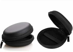 CHG Silicone Shock Proof Protection Sleeve Skin Carrying Box with Hook for Airpods (Airpod Not Include) Black