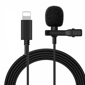Clerby 8 Pin lavalier microphone superb sound for audio and video recording