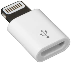 CLERBY Lightning cable - 0.2 mtr , White