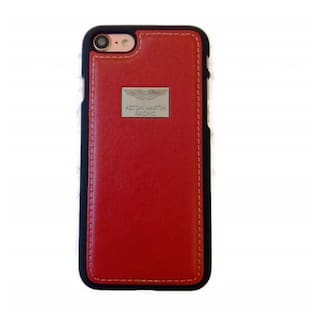super popular 84a36 4c81a Click n PICK ASTON MARTIN RACING Leather Back Cover Case For Apple iPhone  6/6s- Red