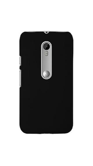 check out 76af7 72a10 Colorcase Back Cover For Motorola Moto G4 Play (Black)