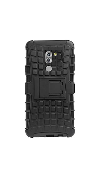 new concept ff2e5 621d0 Buy Colorcase Back Cover For Honor 6x Rubber Black Online at Low ...