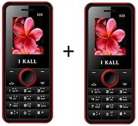 I Kall K24 (Red) Combo of 2