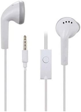 CompatibleSamsung  Ultra High Bass IN-Ear Earphone With MIC  For all Samsung Devices (White)     NRM