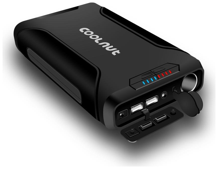 Coolnut 60000 mAh Li-ion Power Bank For Laptop (Black)