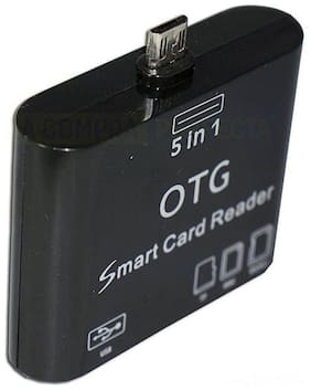 Cos theta 5 in 1 Micro USB OTG Card Reader SD Connection for Smart Phones & Tab