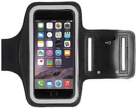 Cos theta Water Resistant Cell Phone Armband: 5.2 Inch Case for iPhone 8  7  6  6S  SE  5  5C 5S and Galaxy S5 Google Pixel - Adjustable Reflective Velcro Workout Band  Key Holder & Screen Protector