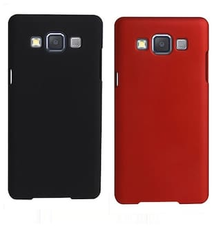 huge selection of 4e4a5 6a225 Coverage Back Cover For Samsung Galaxy Core 2 (Red & Black)