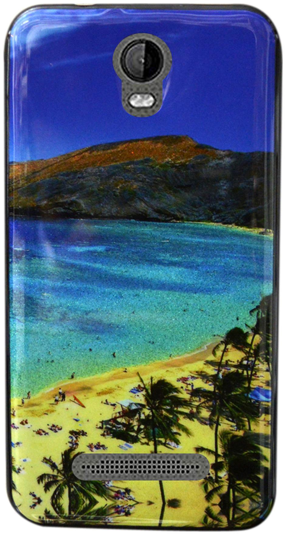 Coverage Back Cover For Micromax Bolt Q339  Multi Color