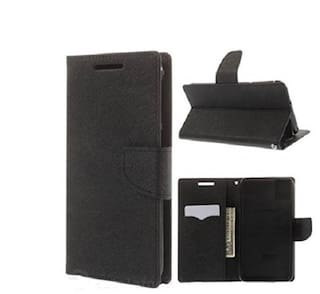 detailed look f3e9e c4113 Coverage Flip Cover For Sony Xperia M2 Dual D2302 (Black)