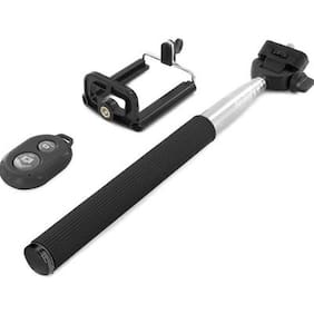 Cp Bigbasket Selfie Stick  (Multicolor, Remote Included)