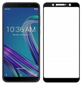 CRAVEMART NANO LIQUID TEMPERED GLASS FOR ASUS ZENFONE MAX PRO M1, 8D TEMPERED GLASS (PACK OF 1)
