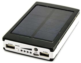 CRAWL 20000 mAh Solar Power Bank - Black