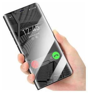 Samsung Galaxy A32 Polycarbonate Flip Cover By CREATIVO ( Black )