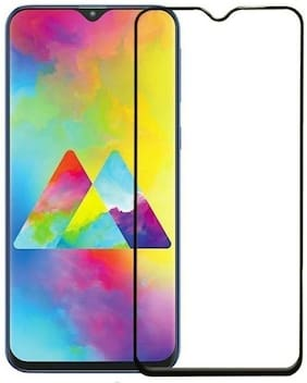 Creativo Tempered Glass Guard for Samsung Galaxy M30  (10D)