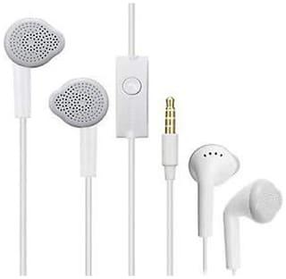 Crispy YS EARPHONE In-Ear Wired Headphone ( White )