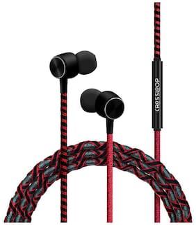 CROSSLOOP Pro series CSLE029-E In-Ear Wired Headphone ( Red )