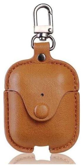 Crystal Digital Leather Pull String Headphone Case