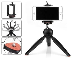 Crystal Digital XH-228 Mini Tripod with Mobile Holder For Making Tiktok Video With Magnetic Earphone