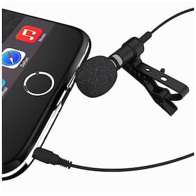 Crystal Digital Collar Mic High Sensitivity 3.5mm Microphone for Voice Chat, Video Conferencing & Recording