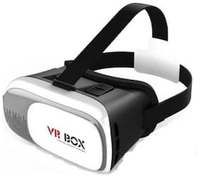 Crystal Digital shinecon Gaming 110 VR Box Headset for All Smartphones with 4.7inch to 6inch Displays (white)