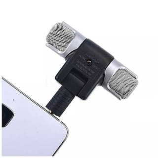 Crystal Digital  3.5mm   Noise Cancellation High Quality  Mic Condenser For Youtube Video/Interviews/Lectures/News/Travel Videos Mike