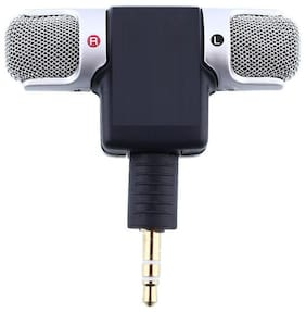 Crystal Digital  3.5mm  High Quality  On Mini Lapel Lavalier Microphone for Voice Chat, Video Conferencing & Recording