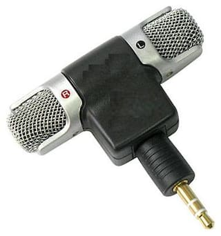 Crystal Digital 3.5mm High Quality On Mini Lapel Lavalier Microphone Mic Great for Voice-Overs, Interviews, Vlogs