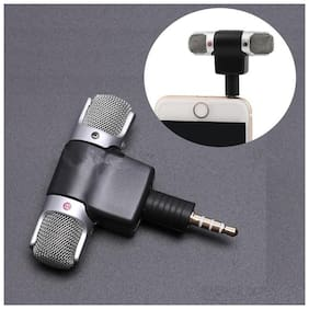 Crystal Digital  3.5mm  High Quality  Microphone for YouTube Mic Voice Recording Lapel Mic Make Videos For All Smartphone