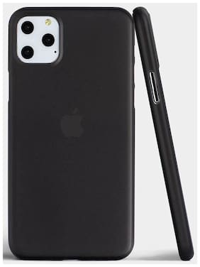 Crystal Digital Silicone Back Cover For Apple iPhone 11 Pro ( Black )