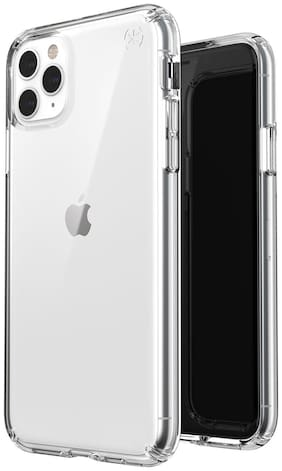Crystal Digital Silicone Back Cover For Apple iPhone 11 Pro ( Transparent )