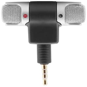 Crystal Digital  3.5mm    Audio Microphone 3.5mm Jack Plug Mic Stereo Mini Lapel Wired MIC For Interviews