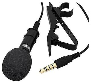 Crystal Digital Collar Mic Microphone 3.5mm Jack For iPhone SmartPhones Recording PC