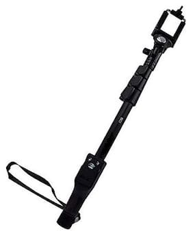 Crystal Digital YT1288 Multipurpose Wireless Selfie Stick Monopod with Bluetooth Remote Enabled for All Smartphones