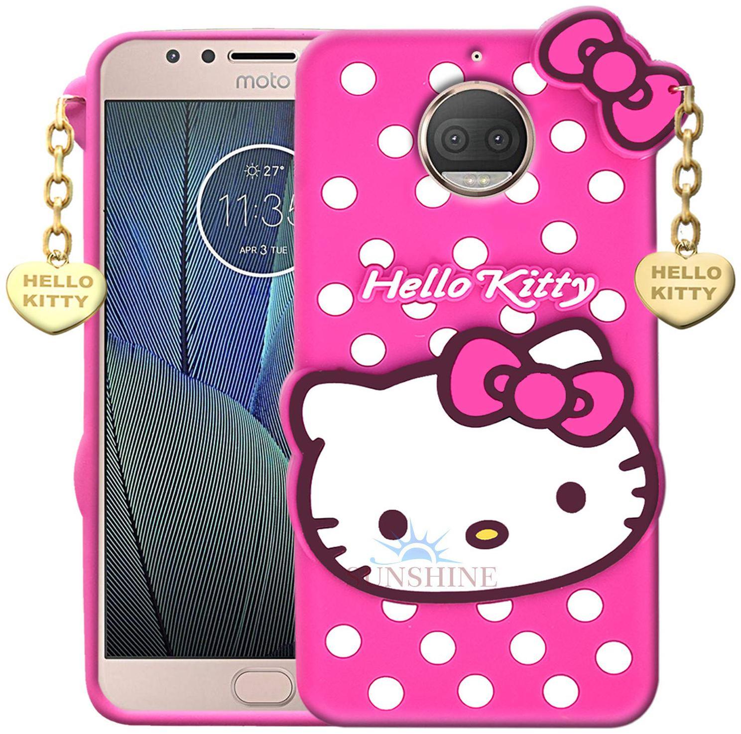 Motorola Moto G5 Plus Silicone Armor Case   Back Cover By EXOTIC FLOURISH   Pink   by Exotic Flourish