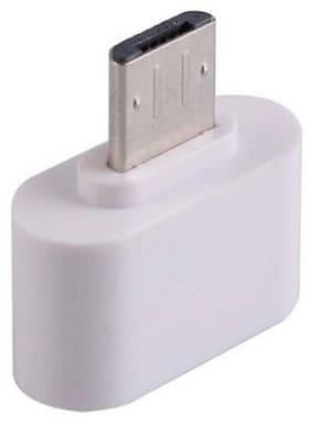 Datalact Otg adapter - 0-0.2m , White