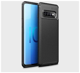 Samsung Galaxy S10 Plus TPU Back Cover By DealClues ( Black )