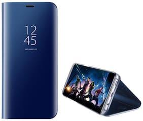 Redmi Note 5 Pro Polycarbonate Flip Cover By DealClues ( Blue )