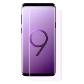 DealClues Samsung Galaxy S9 Plus Unbreakable Flexible Impossible Screen Guard Protector