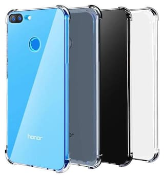 dealidol Back Cover For Huawei Honor 9 Lite (Transparent)