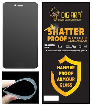 DigiArm Impossible Screen Guard for Moto E4 Plus (Pack of 2)