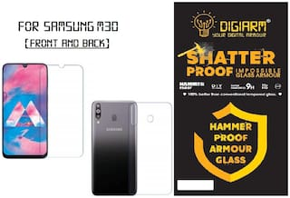 Digiarm Impossible Screen Guard for Samsung Galaxy M30 (Front and Back)