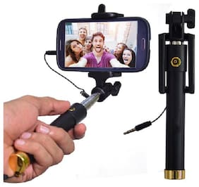DigiArm Selfie Stick For All Smartphones (AUX wired)