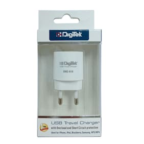 Digitek DMC-010 Travel Adapter (White)