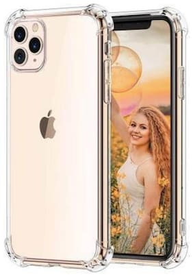 Apple iPhone 11 Pro Rubber Back Cover By DMJHP ( Transparent )