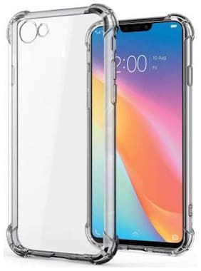 Vivo Y81i Rubber Back Cover By DMJHP ( Transparent )