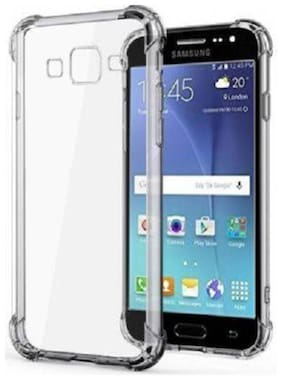 DMJHP Rubber Back Cover For Samsung Galaxy J7 ( Transparent )