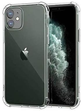 Apple iPhone 11 Rubber Back Cover By DMJHP ( Transparent )